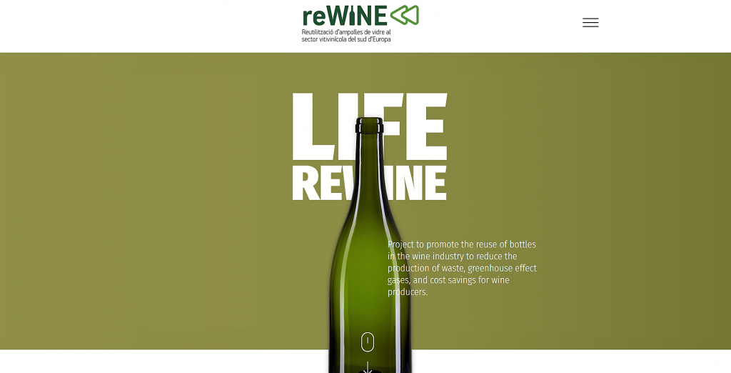 A new initiative to reuse glass bottles in the wine sector