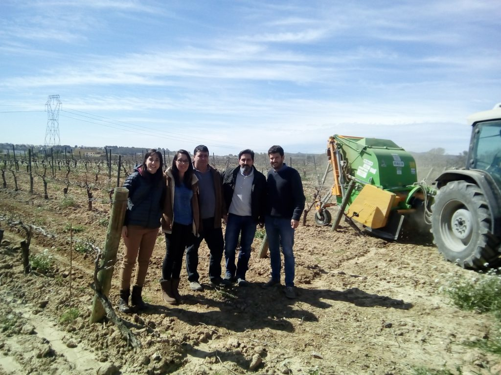 Networking visit to LIFE project Vineyards4Heat in Vilafranca del Penedès