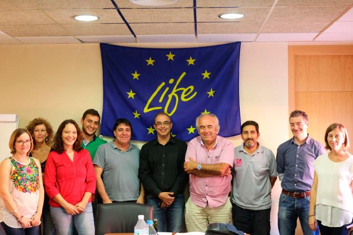 Kick off meeting del Proyecto Life Sarmiento