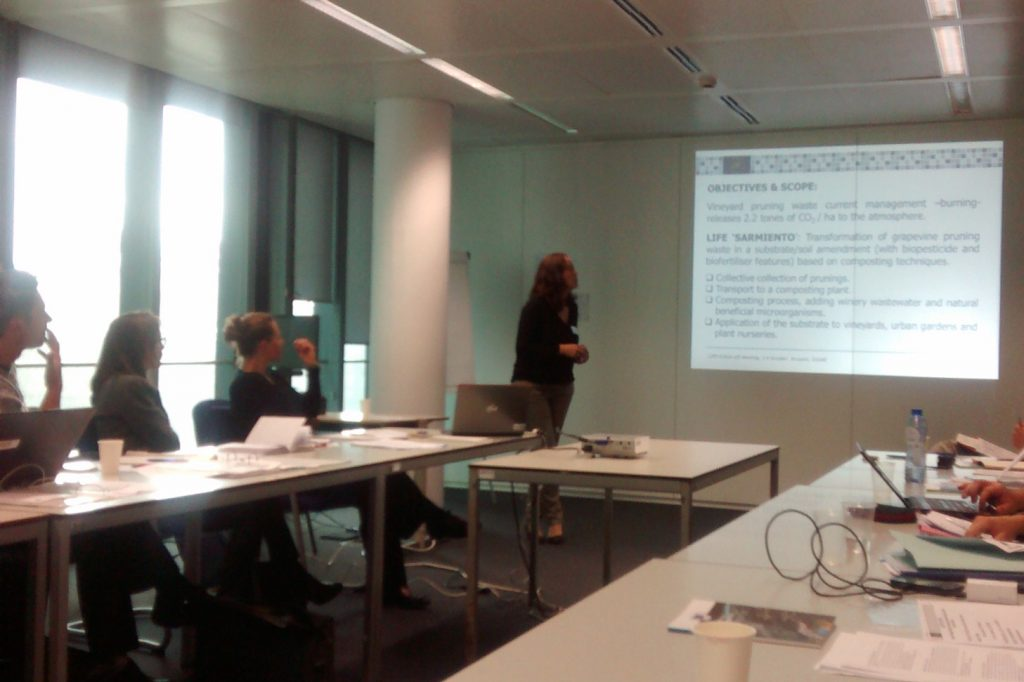 LIFE Projects Meeting in Brussels