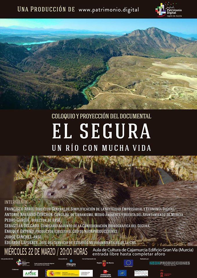 Un documental muestra los entresijos del Río Segura a su paso por Murcia