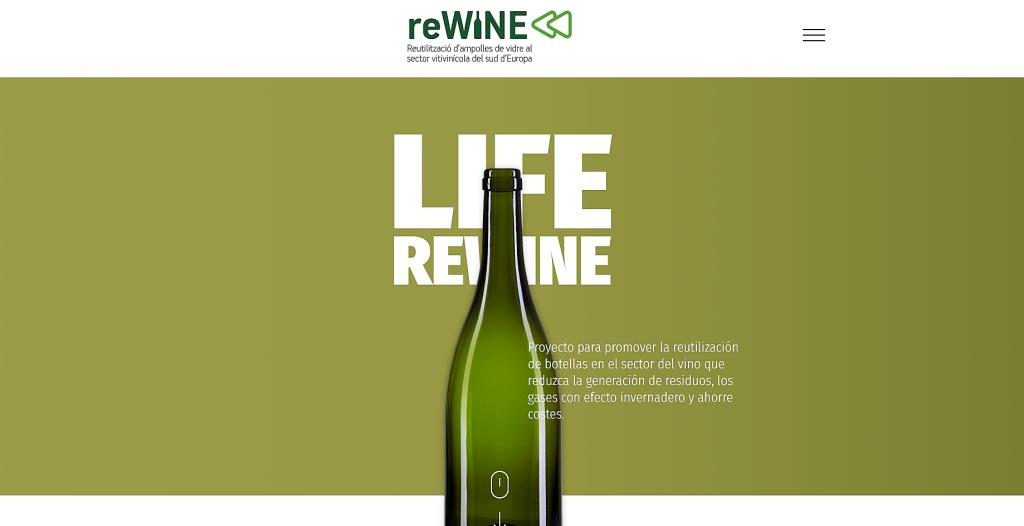 Nueva iniciativa para reutilizar las botellas de vidrio en el sector vitivinícola