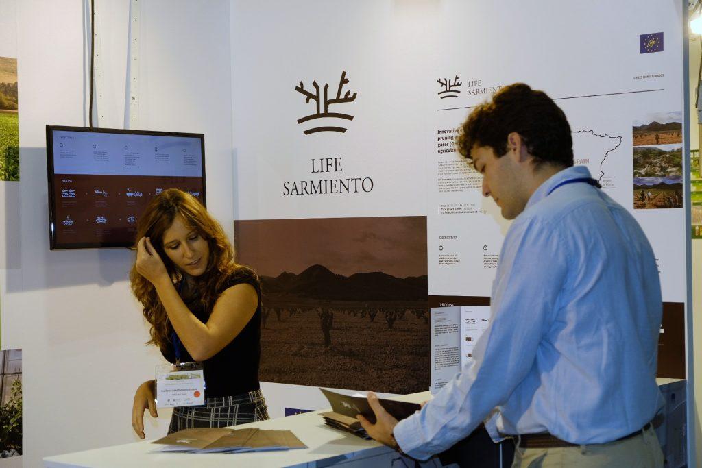 Presentación de LIFE Sarmiento en Italia