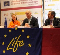 Asistimos LIFE Agriforest (Madrid) plataforma sobre adaptación al Cambio Climático en agricultura y silvicultura en la región mediterránea