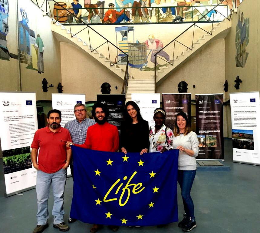 We received the visit of FLAGA project from NGO Red Araña